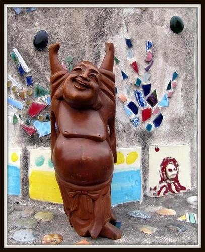 arcata community garden buddha 1