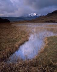 Winter herald, Blaven (Richard Childs) Tags: skye scotland large velvia 4x5 format landscapesshotinportraitformat