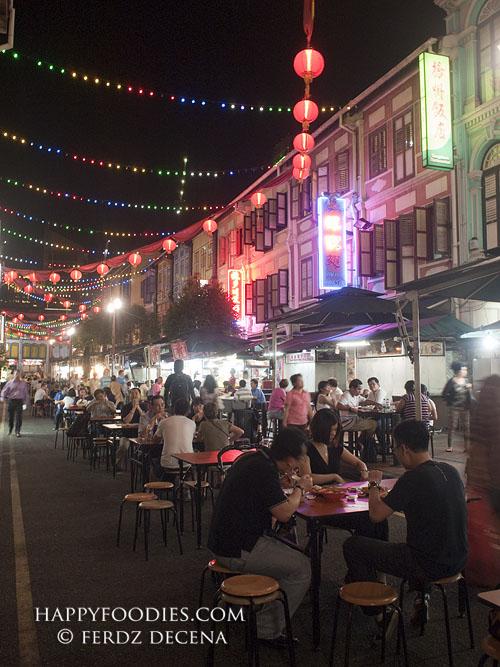 Singapore China Town Food Street