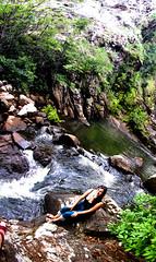A nymph at Kundalila falls