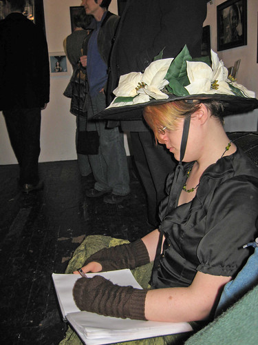 Molly sketching