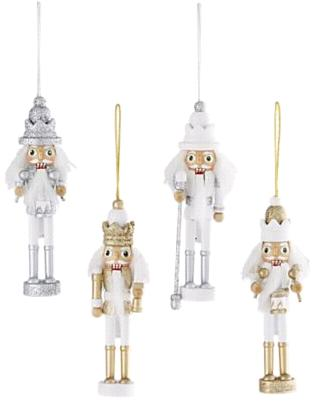 crate and barrel nutcracker ornament