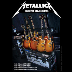Guitar Hero James Hetfield of Metallica is a consummate guitar aficionado. 1959 Gibson Les Paul Standard guitar. (eric_ernest) Tags: musician music classic acdc electric vintage photo google cool tour photos guitar band guitars mandolin double american metallica 1958 acoustic michaeljackson custom guitarhero amplifier bassguitar rare thinlizzy ledzeppelin guitarist musicvideo recording aerosmith 59 americanidol 1959 thebeatles therollingstones guitarplayer zztop amplifiers facebook 1960 58 iphone acousticguitar guitaramp elvispresley downloadmusic guitarcollection gibsonguitar guitarcenter doubleneck jonasbrothers electricguitars guitarrig vintageguitar twitter guitarshow jameshetfield garymoore vintageguitars 1959gibsonlespaul sarahpalin eds1275 musicsongs rareguitar guitarphotos vintagemusicalinstruments guitarsinstruments deathmagnetic ems1235 rareguitars abalonevintage vintageguitarbuyer vintageguitarbroker