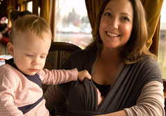 Nora Lea, Dottie and Mom (helenjane) Tags: dottie winetrain santaexpress noralea freshhell