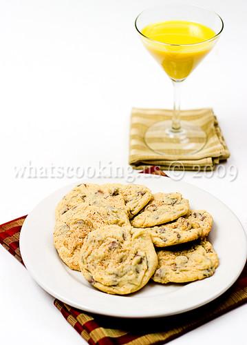 Rompope cookies