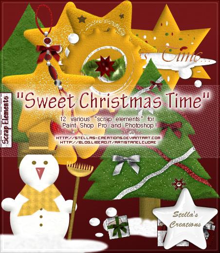 Sweet Christmas Time - © Blog Stella's Creations: http://sc-artistanelcuore.blogspot.com