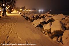 Lungolago di Desenzano d/G con neve