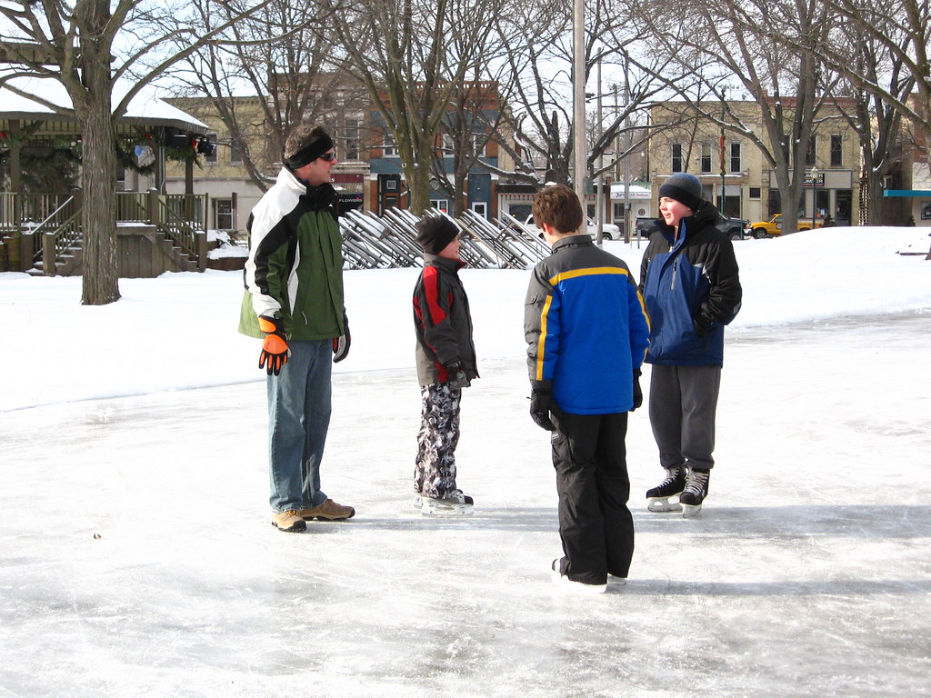 Ice Rink in Commons Park