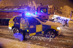 Speed the Snow Plough (Greater Manchester Police) Tags: winter snow car weather speed manchester 4x4 police policecar bmw snowfall snowplough gmp bluelights patrolcar roadclosure m60 britishpolice policevehicle trafficcar ukpolice highwaysagency greatermanchesterpolice bartonbridge trafficvehicle bmwpolicecar motorwaypatrol motorwayclosure unitedkingdompolice trafficpatrolcar
