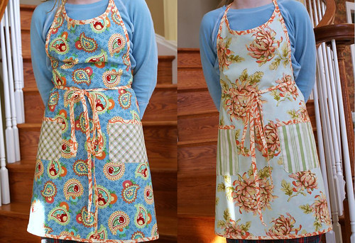 Kelly's reversible Shopgirl apron