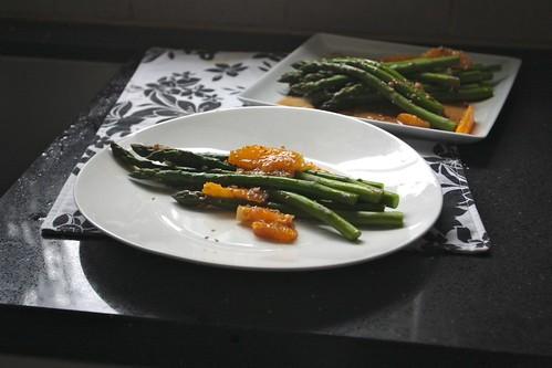 asparagaus & orange salad