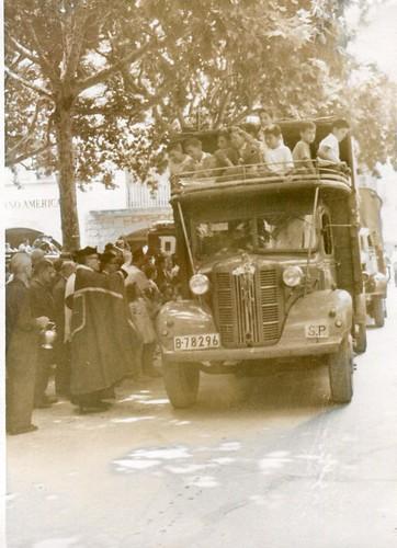 juliol de 1952: benedicció de sant Cristòfol.