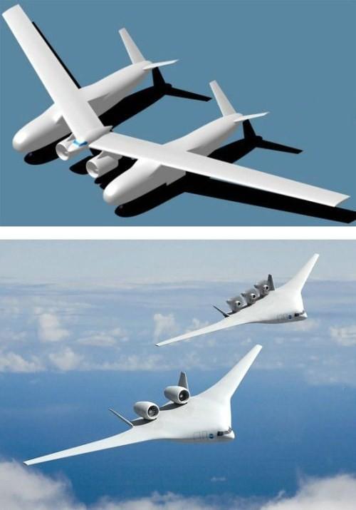 pesawat terbang canggih
