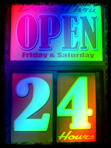 Open 24 Hours by Damian Gadal