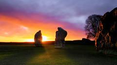 Henge (Solent Poster) Tags: avebury henge neolithic wiltshire 2017 february pentax k1 2470mm landscape sunrise historical standing stones