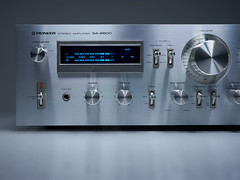 Pioneer SA 8800 Stereo Amplifier (oldsansui) Tags: 1970 1979 1970s audio classic pioneer stereo receiver amplifier amp retro vintage hifi desgn sound old radio music seventies madeinjapan 70erjahre integratedamplifier