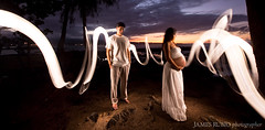 Brynn & Francis Maternity Shoot (James Rubio) Tags: sunset lightpainting francis hawaii pregnant maternity hilo brynn micropro litepanels