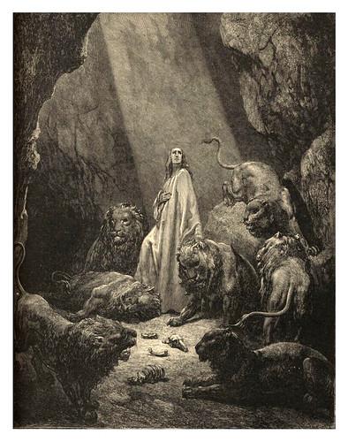 010-Daniel en la cueva de los leones-Gustave Doré
