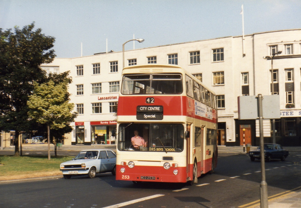253, Plymouth, early 1980s (by aecregent)