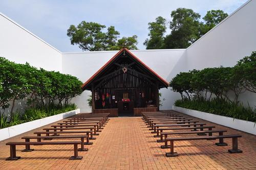 Changi Prison Museum chapel