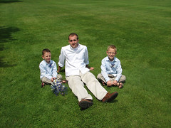 The boys with Uncle Ryan (scelza) Tags: wedding sidebar