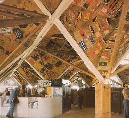 Pavilion by Arthur Erickson for Vancouver's UN Habitat conference
