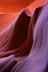 Antelope Rainbow (Jeff Dyck) Tags: sandstone slotcanyon antelopecanyon jeffdyck lowerantelopecanyon