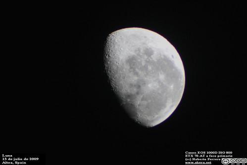 Luna en Altea