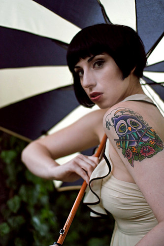 Image by The Pug Father. More Umbrella… more of my Owl Tattoo