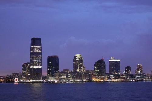 Jersey City from Manhattan...