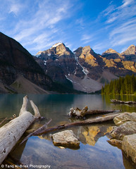 Moraine Lake - Rocky Mountains (Tariq Albriek) Tags: lake canada mountains rocky moraine tariq      albriek