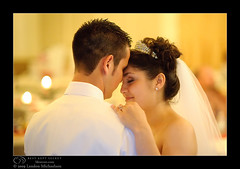 Wedded Bliss (bksecretphoto) Tags: wedding people couple faces warmth reception moment firstdance d3 bksecret