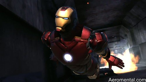 juego Iron Man 2 salir volando