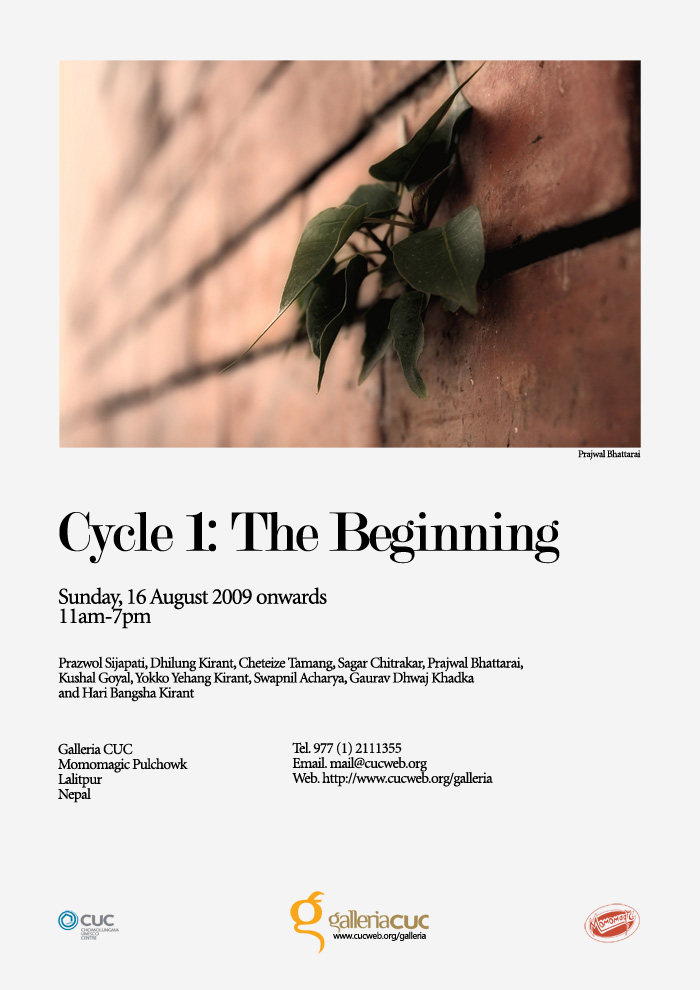 Cycle 1 The Beginning @ NEPALPHOTOGRAPHY.org