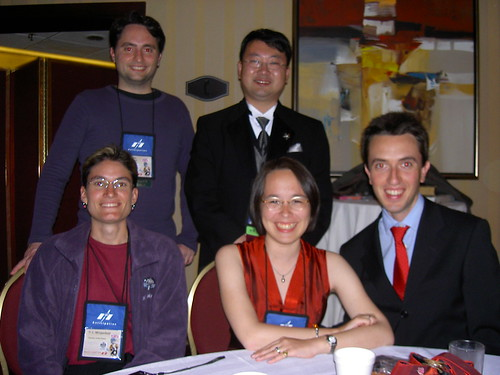 Group pic at the Post Hugo Party