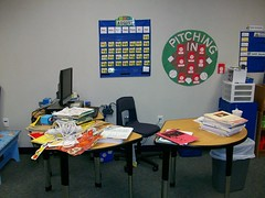 My Messy Desk (ovrjoyd4u2) Tags: new sports class theme
