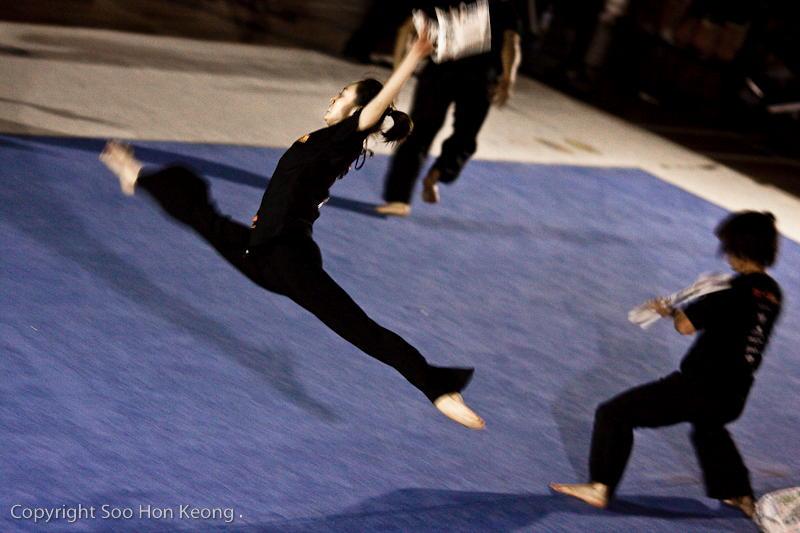 Wushu Performance (Sailing) @ KL, Malaysia