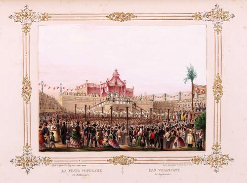 017- Fiesta popular Trieste- Ferdinando I e Maria Anna Carolina  nel litorale in settembre 1844