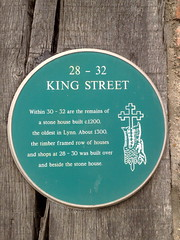 Photo of Green plaque number 3838