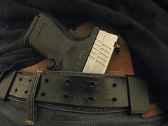 Crossbreed Holster (Ko0tEr) Tags: horse leather sub tan hide springfield armory carry xd concealed holster compact 3in polymer crossbreed weaponfirearm