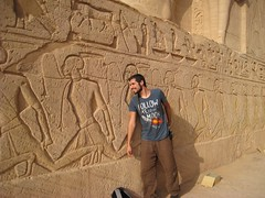 Una incmoda postura (versae) Tags: egypt egipto  abusimbel