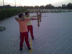 Ahmed & Hamad alhajeri Shooting Arrow Bow (Hamad Alhajeri) Tags: ahmed hamad alhajeri