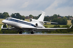 CS-DSB - Netjets Europe - Dassault Falcon 7X - Luton - 090707 - Steven Gray - IMG_0208