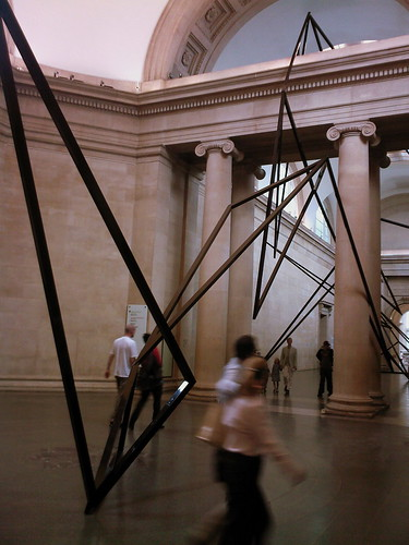 eva rothschild in tate britain by you.
