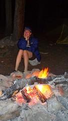 Clare Campfire Night Before Harvard & Columbia