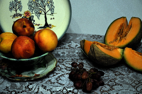 (A Sad) Still Life with Melon