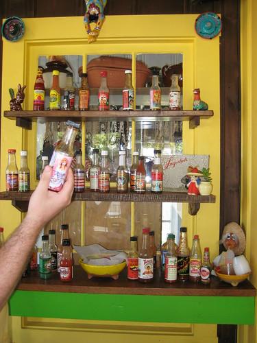 hot sauce wall