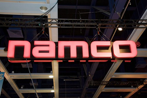 Namco booth