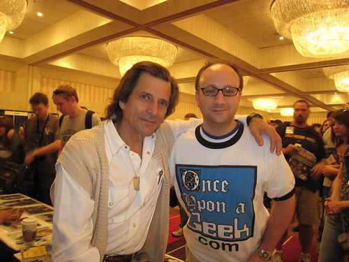 Dragon*Con - Dirk Benedict and Shag