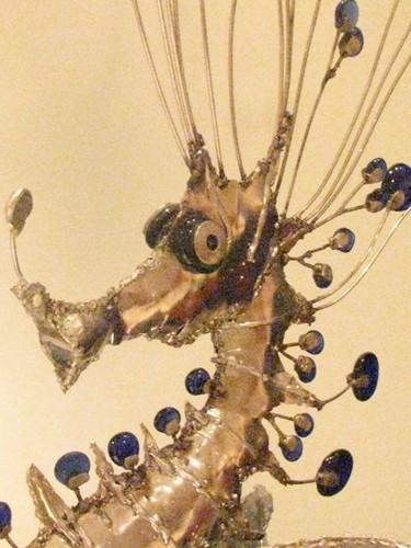 Seahorse closeup